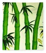 Bamboos Fleece Blanket