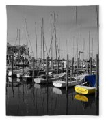 Banana Boat Fleece Blanket