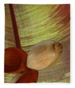 Banana Composition I Fleece Blanket