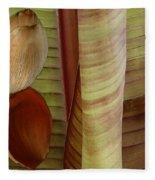 Banana Composition II Fleece Blanket