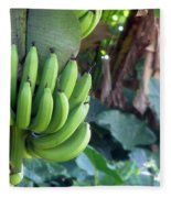 Banana Tree Fleece Blanket