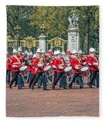 Band Of The Guard Fleece Blanket