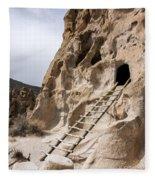 Bandelier Caveate - Bandelier National Monument New Mexico Fleece Blanket
