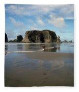 Bandon Beach Fleece Blanket