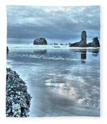 Bandon Beach Scatter Fleece Blanket