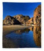 Bandon Low Tide Reflections Fleece Blanket