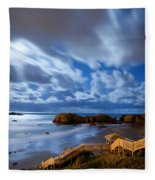 Bandon Nightlife Fleece Blanket