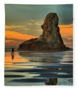 Bandon Photographer Fleece Blanket