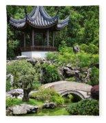 Bansi Garden Fleece Blanket