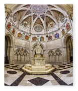 Baptistry At Saint John The Divine Cathedral Fleece Blanket