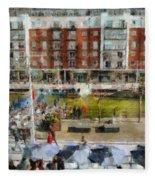 Bar 38 Gunwharf Quays Fleece Blanket
