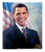 Barack Obama Fleece Blanket