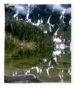 Baranof Lake Fleece Blanket