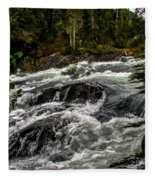 Baranof River Fleece Blanket
