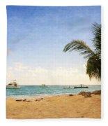 Barbados Beach Fleece Blanket