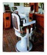 Barber - Barber Chair And Cash Register Fleece Blanket
