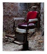 Barber Chair Fleece Blanket