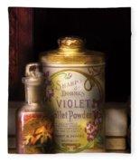 Barber -  Sharp And Dohmes Violet Toilet Powder  Fleece Blanket