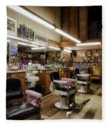 Barber Shop In Montgomery Alabama Fleece Blanket