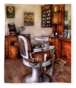 Barber - The Barber Chair Fleece Blanket