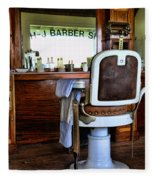 Barber - The Barber Shop Fleece Blanket
