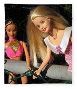 Barbie Escapes Fleece Blanket