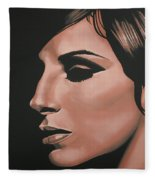 Barbra Streisand Fleece Blanket