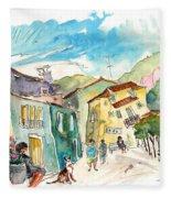 Barca De Alva Houses 01 Fleece Blanket