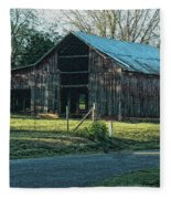 Barn 1 - Featured In Old Building And Ruins Group Fleece Blanket