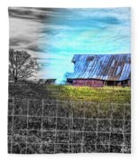 Barn 23 - Featured In Comfortable Art  And Artists Of Western Ny Groups Fleece Blanket