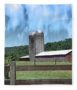 Barn 28 - Featured In Old Buildings And Ruins Group Fleece Blanket