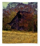 Barn And Diamond Reo-featured In Barns Big And Small Group Fleece Blanket