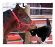 Barn Buddies Fleece Blanket
