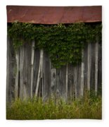 Barn Eyes Fleece Blanket