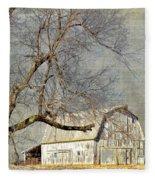 Barn - Missouri's Backroads Fleece Blanket