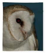 Barn Owl 2 Fleece Blanket