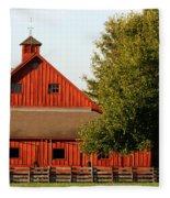 Barn South-3586 Fleece Blanket