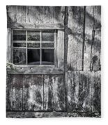 Barn Window Fleece Blanket