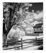 Barn Yard Fleece Blanket