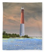 Barnegat Abstract Fleece Blanket