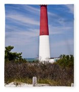 Barnegat Lighthouse Fleece Blanket