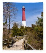 Barnegat Lighthouse II Fleece Blanket