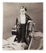 Barnum Admiral Dot, C1870 Fleece Blanket