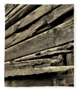 Barnwood Fleece Blanket