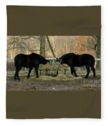 Barnyard Beauties Fleece Blanket