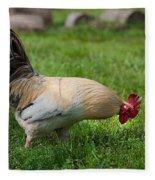 Barnyard Rooster 2 Fleece Blanket