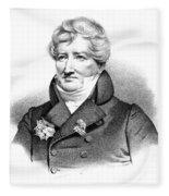 Baron Georges Cuvier (1769-1832) Fleece Blanket