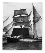 Barquentine, 1871 Fleece Blanket