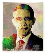 Barrack Obama Fleece Blanket