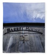 Barrel House One Fleece Blanket